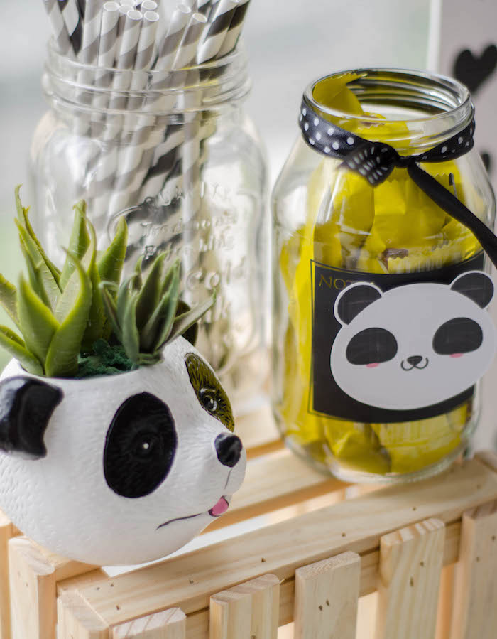 "Decor from a ""Party Like a Panda"" Birthday Party on Kara's Party Ideas   KarasPartyIdeas.com (17)"