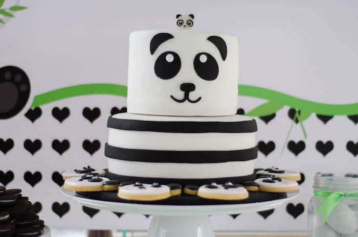Panda Bear Cake from a