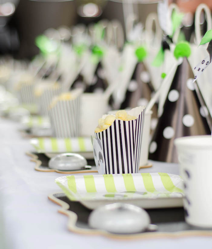 """Guest Tablescape from a """"Party Like a Panda"""" Birthday Party on Kara's Party Ideas   KarasPartyIdeas.com (25)"""