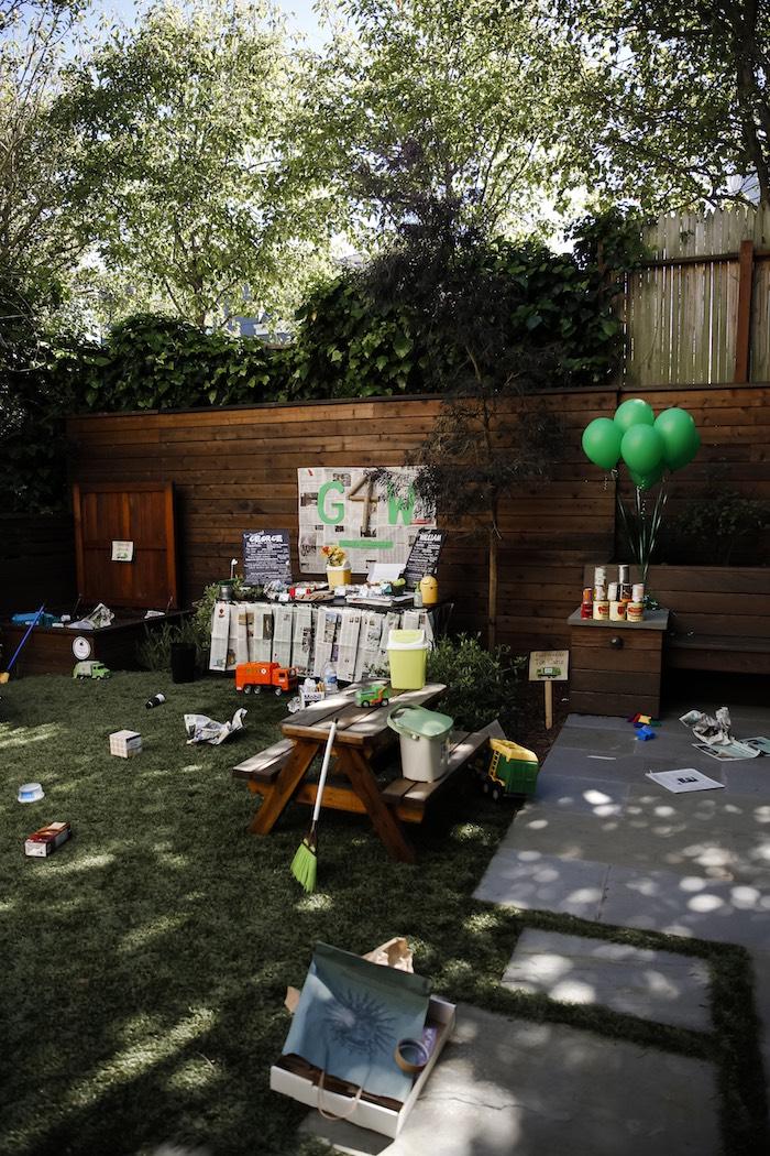 """Trash Bash"" Garbage Truck Birthday Party on Kara's Party Ideas | KarasPartyIdeas.com (7)"