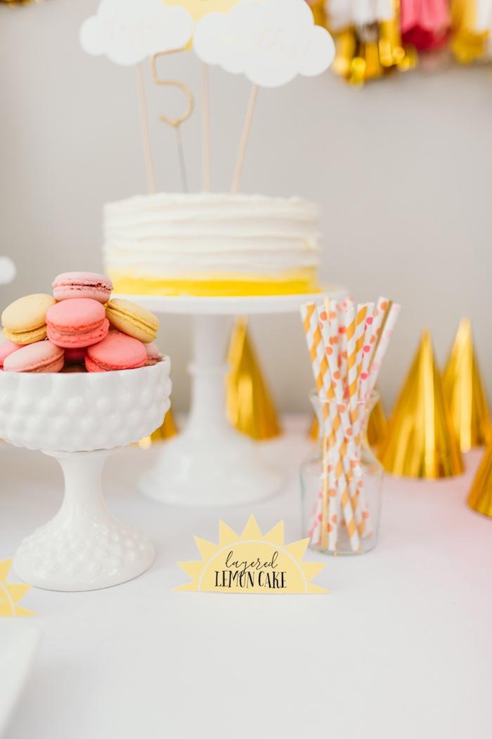 """You Are My Sunshine"" Birthday Party on Kara's Party Ideas | KarasPartyIdeas.com (7)"