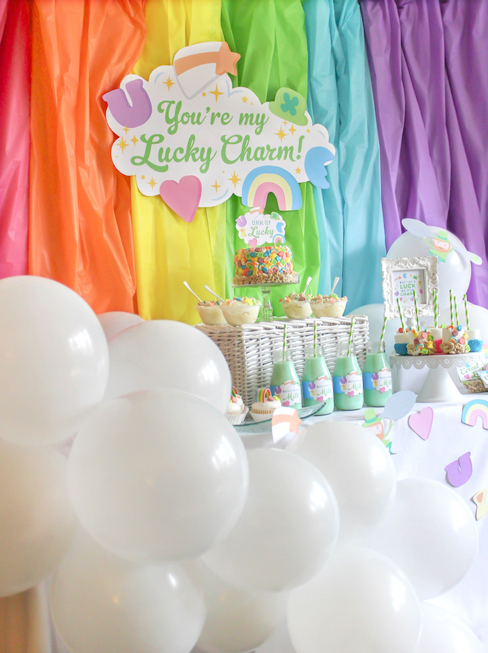 """You're My Lucky Charm"" St. Patrick's Day Party on Kara's Party Ideas 