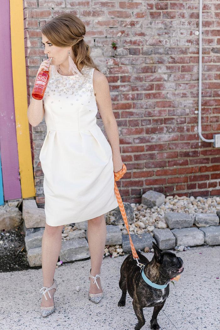 60's Mod Inspired Ice Cream Bridal Shower on Kara's Party Ideas | KarasPartyIdeas.com (15)