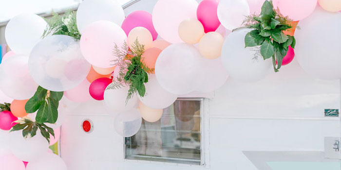 60's Mod Inspired Ice Cream Bridal Shower on Kara's Party Ideas | KarasPartyIdeas.com (5)