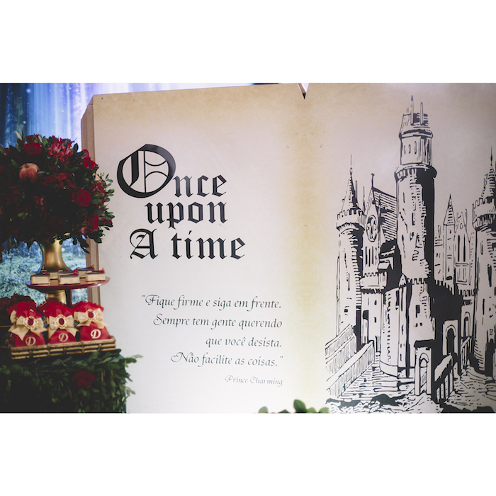 Karas Party Ideas ABCs Once Upon A Time Inspired