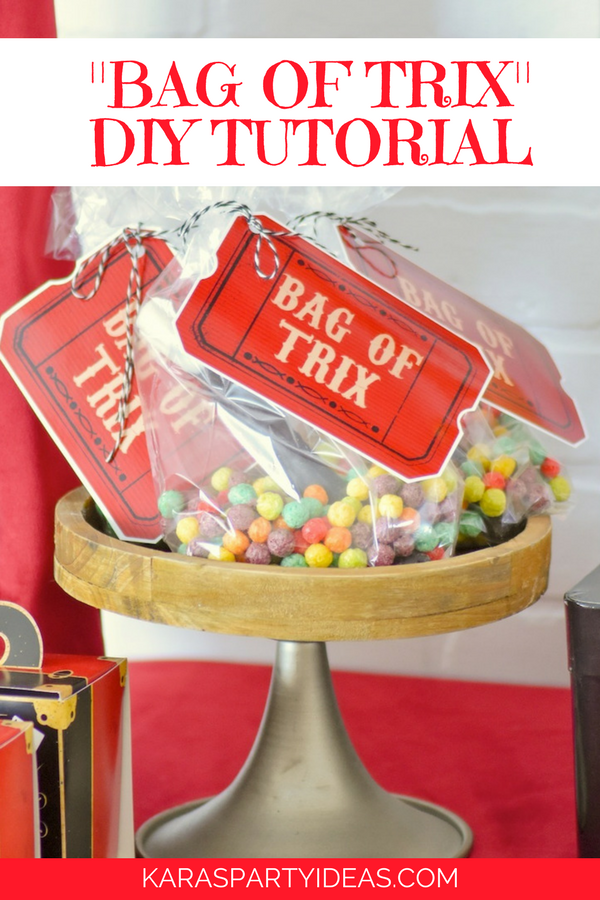 Kara S Party Ideas Quot Bag Of Trix Quot Diy Tutorial Kara S