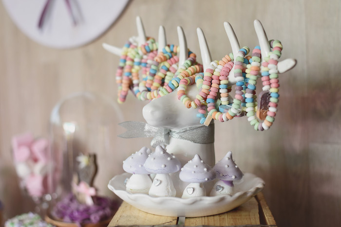 Stag Treat + Candy Rack from a Bambi + Girly Woodland Birthday Party on Kara's Party Ideas | KarasPartyIdeas.com (14)