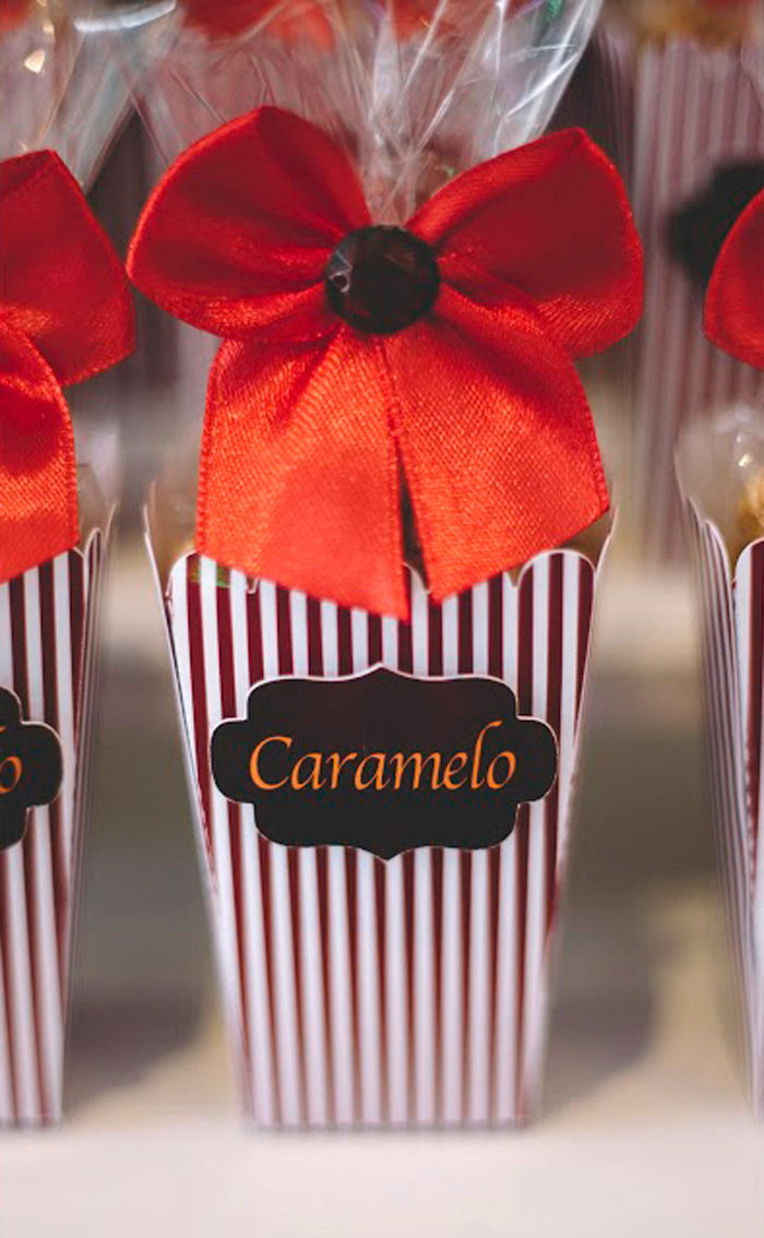 "Caramel Box Favor from ABC's ""Once Upon a Time"" Inspired Birthday Party on Kara's Party Ideas 