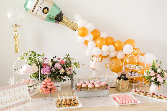 kara s party ideas champagne brunch bridal shower kara s party ideas