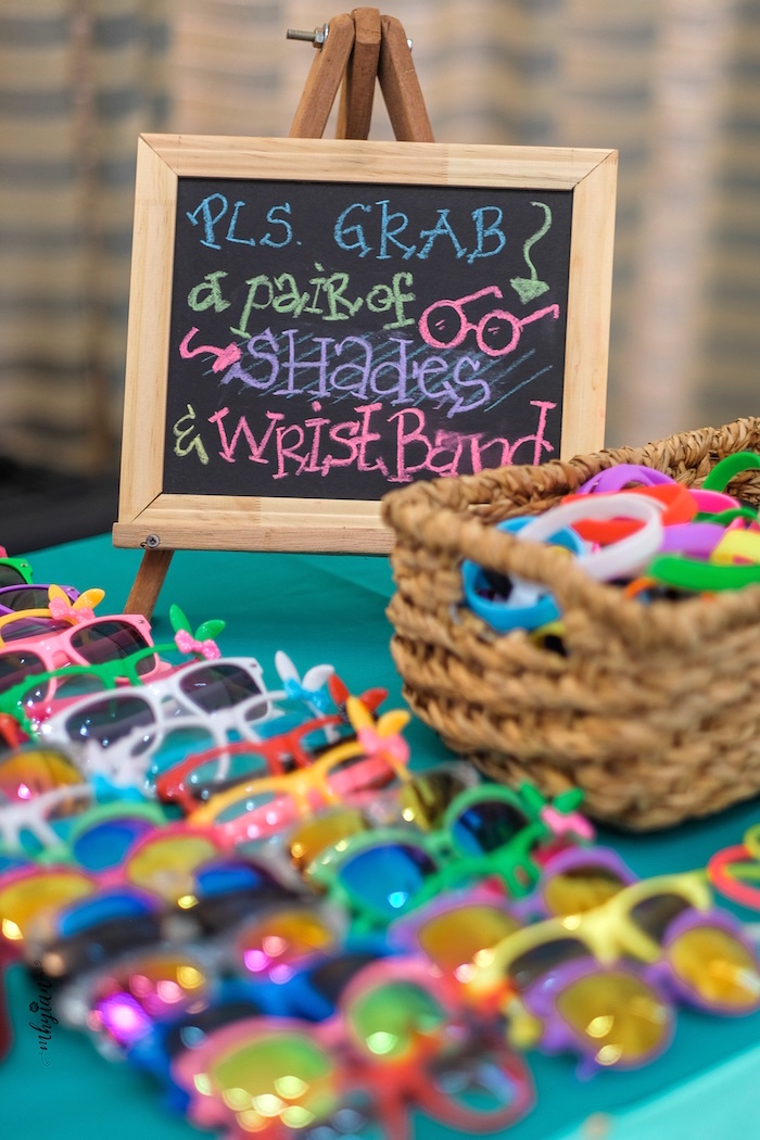 Sunglass Favors from a Coachella Inspired Boho Birthday Party on Kara's Party Ideas | KarasPartyIdeas.com (30)