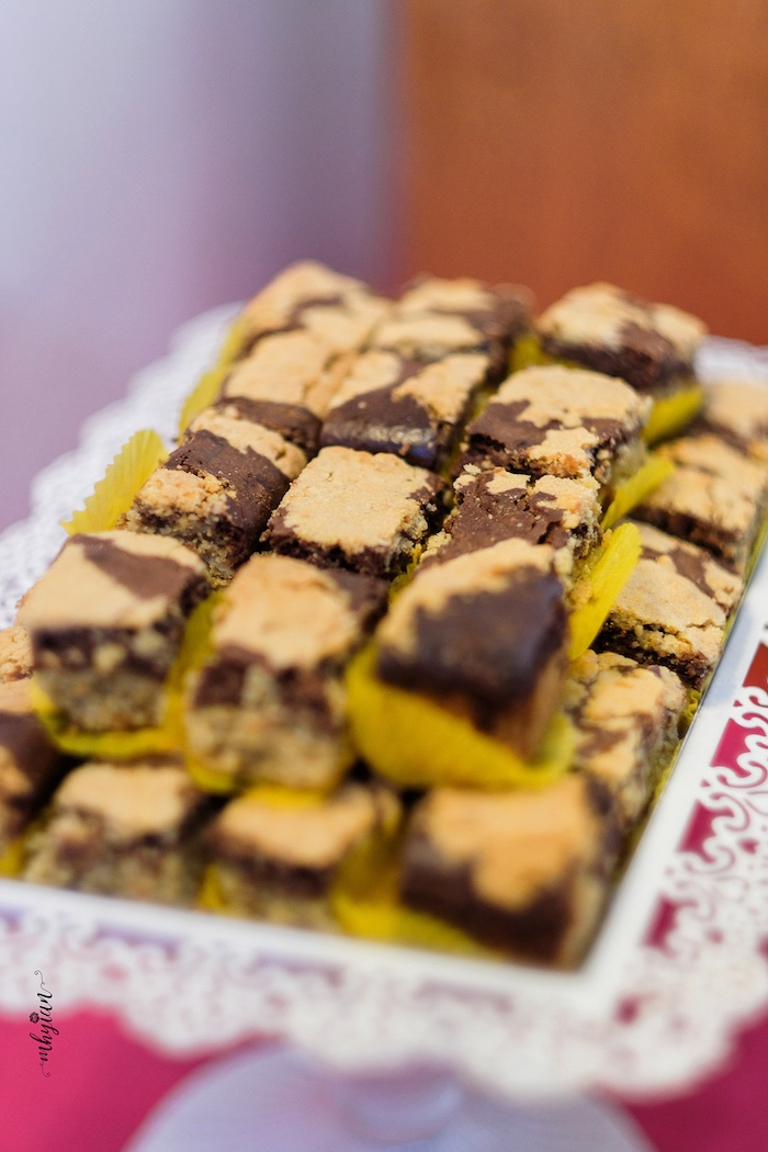 Brownies from a Coachella Inspired Boho Birthday Party on Kara's Party Ideas | KarasPartyIdeas.com (6)
