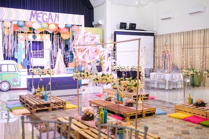 Kara S Party Ideas Coachella Inspired Boho Birthday Party