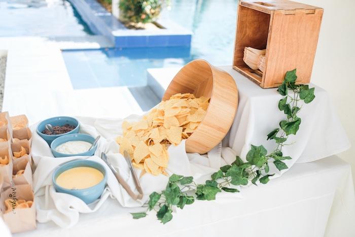 Food Table from a Coachella Inspired Boho Birthday Party on Kara's Party Ideas | KarasPartyIdeas.com (33)