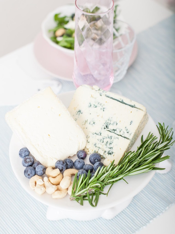 Charcuterie Board from a DIY Pastel Easter Tablescape on Kara's Party Ideas | KarasPartyIdeas.com (11)