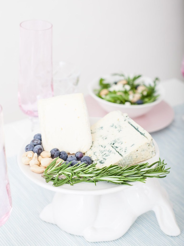 Charcuterie Board from a DIY Pastel Easter Tablescape on Kara's Party Ideas | KarasPartyIdeas.com (10)
