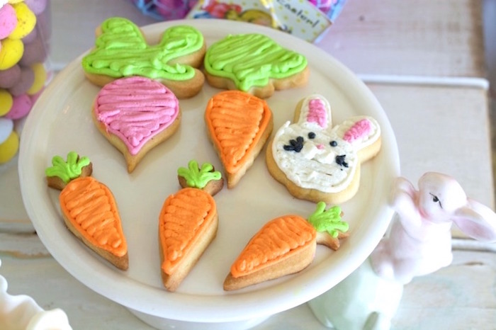 Easter Cookies from an Easter Dessert Table on Kara's Party Ideas | KarasPartyIdeas.com (10)