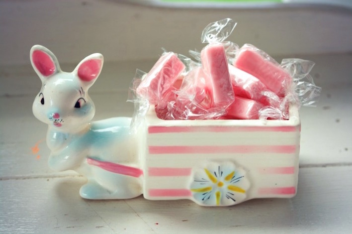 Bunny Carriage from an Easter Dessert Table on Kara's Party Ideas | KarasPartyIdeas.com (8)