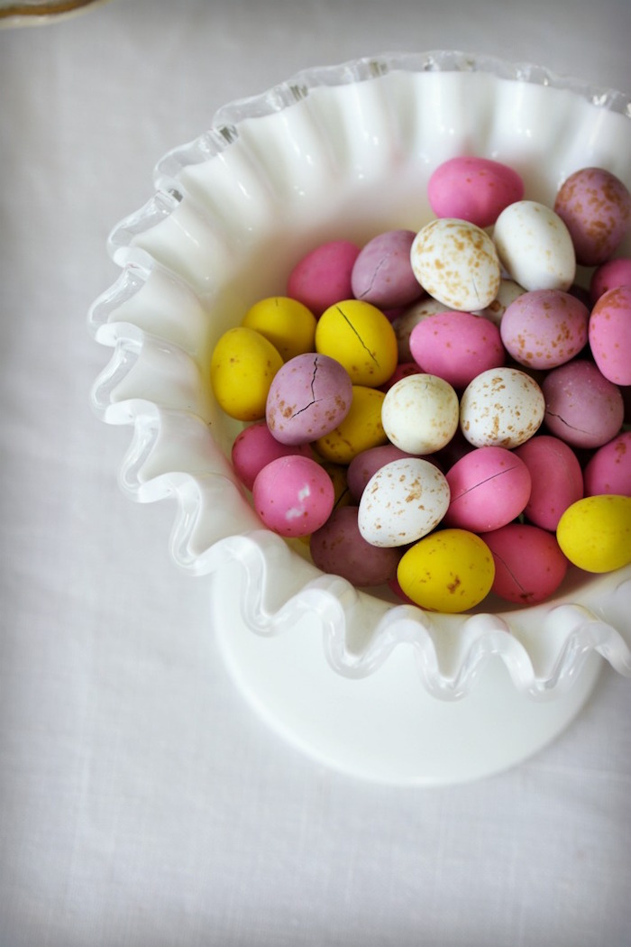 Chocolate Eggs from an Easter Dessert Table on Kara's Party Ideas | KarasPartyIdeas.com (7)