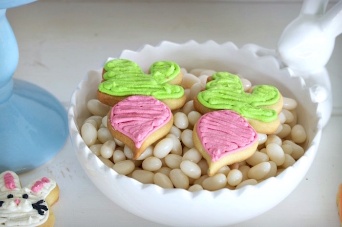 Turnip Cookies from an Easter Dessert Table on Kara's Party Ideas | KarasPartyIdeas.com (4)