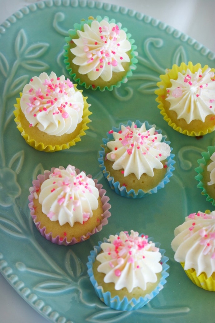 Cupcakes from an Easter Dessert Table on Kara's Party Ideas | KarasPartyIdeas.com (21)