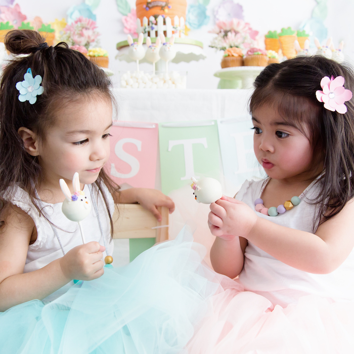 Easter Inspired Spring Playdate Party on Kara's Party Ideas | KarasPartyIdeas.com (6)