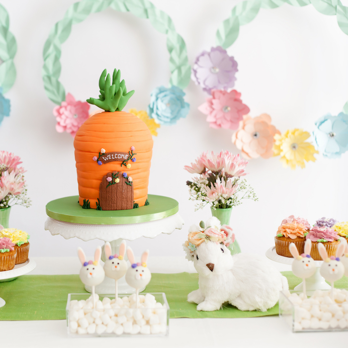 Easter Inspired Spring Playdate Party on Kara's Party Ideas | KarasPartyIdeas.com (32)