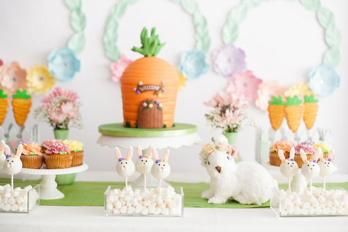 Easter Inspired Spring Playdate Party on Kara's Party Ideas | KarasPartyIdeas.com (29)
