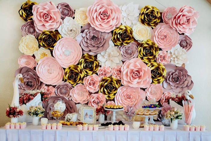 Dessert Table from an Elegant Swan Soiree on Kara's Party Ideas | KarasPartyIdeas.com (10)