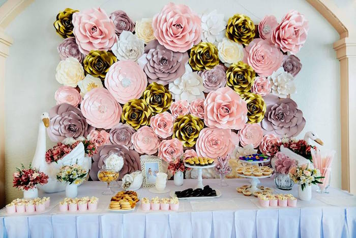 Dessert Table from an Elegant Swan Soiree on Kara's Party Ideas | KarasPartyIdeas.com (6)