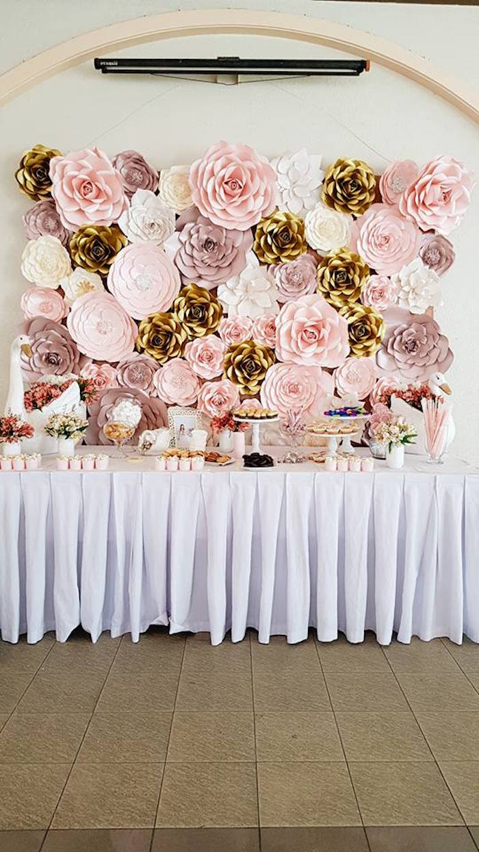 Dessert Table from an Elegant Swan Soiree on Kara's Party Ideas | KarasPartyIdeas.com (18)