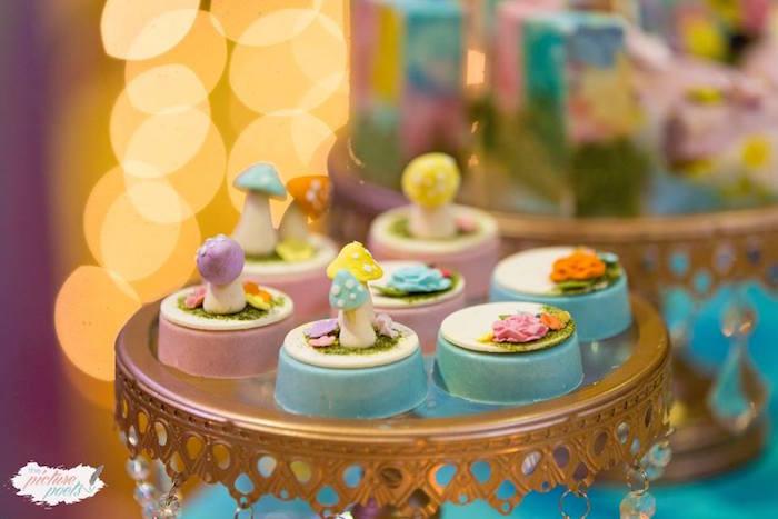 Fairy Garden Oreos from an Enchanted Fairy Garden Party on Kara's Party Ideas | KarasPartyIdeas.com (7)