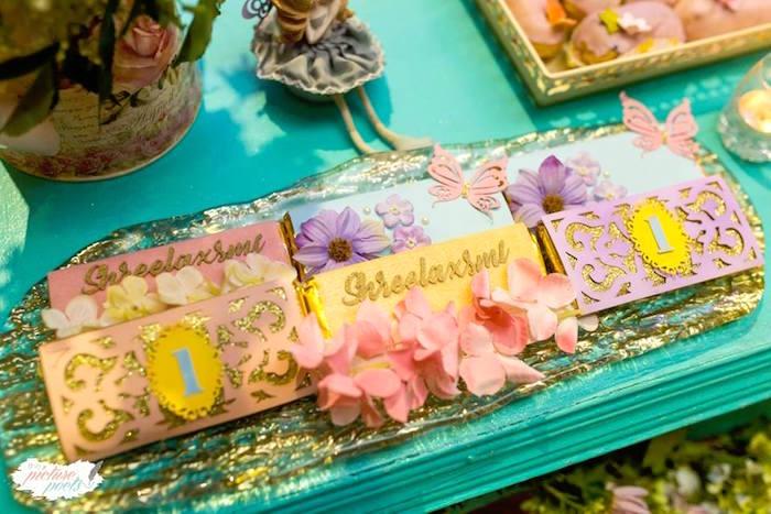 Garden Candy Bars from an Enchanted Fairy Garden Party on Kara's Party Ideas | KarasPartyIdeas.com (22)