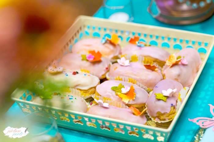 Enchanted Garden Pastries from an Enchanted Fairy Garden Party on Kara's Party Ideas | KarasPartyIdeas.com (21)