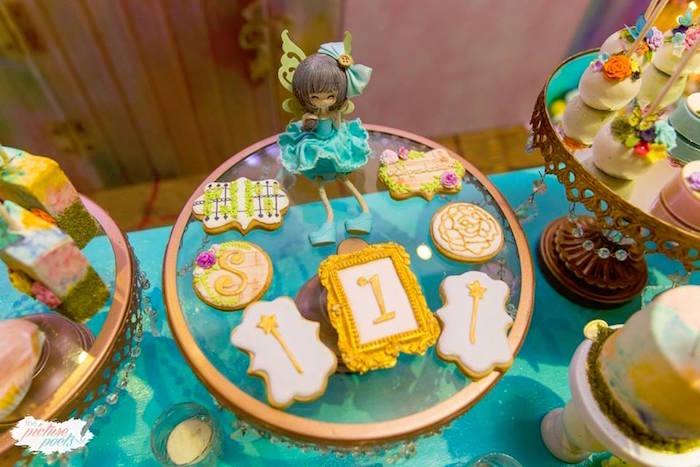 Cookies from an Enchanted Fairy Garden Party on Kara's Party Ideas | KarasPartyIdeas.com (19)