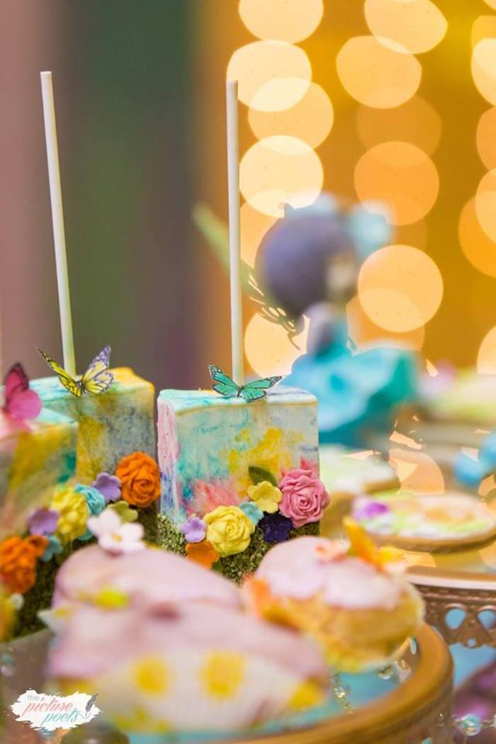 Enchanted Garden Pops from an Enchanted Fairy Garden Party on Kara's Party Ideas | KarasPartyIdeas.com (17)