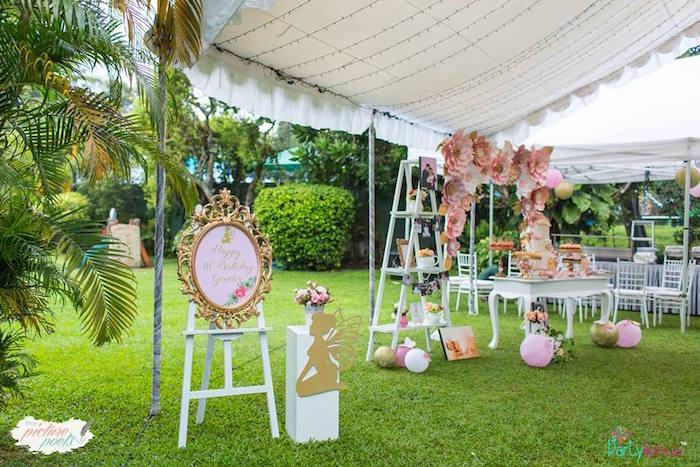 Fairy Garden Birthday Party on Kara's Party Ideas | KarasPartyIdeas.com (18)