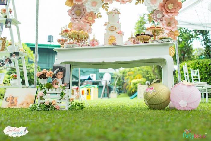 Kara\'s Party Ideas Fairy Garden Birthday Party | Kara\'s Party Ideas
