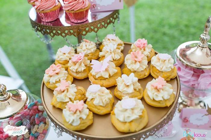 Cookies from a Fairy Garden Birthday Party on Kara's Party Ideas | KarasPartyIdeas.com (15)