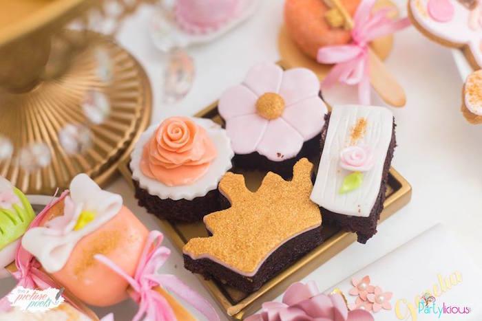 Brownies from a Fairy Garden Birthday Party on Kara's Party Ideas | KarasPartyIdeas.com (32)