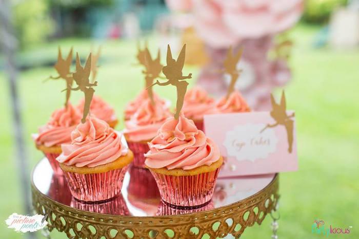 Fairy Cupcakes from a Fairy Garden Birthday Party on Kara's Party Ideas | KarasPartyIdeas.com (25)