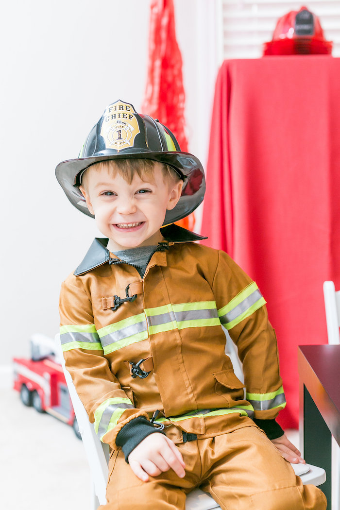 Firetruck Birthday Party on Kara's Party Ideas | KarasPartyIdeas.com (18)