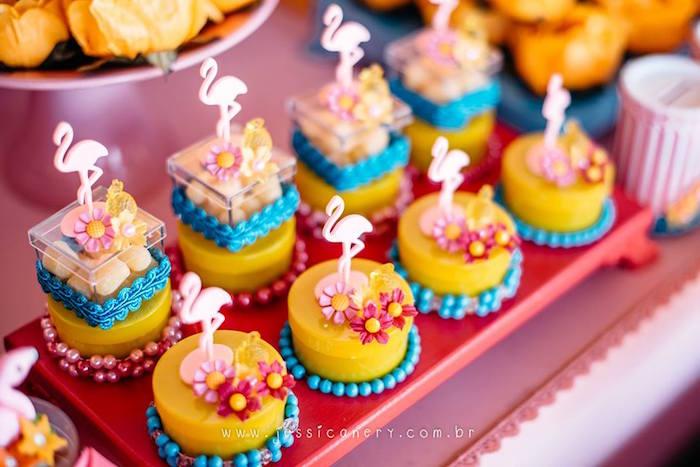 Flamingo Favors from a Flamingo Pool Party on Kara's Party Ideas | KarasPartyIdeas.com (22)