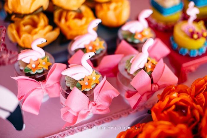 Flamingo Favors from a Flamingo Pool Party on Kara's Party Ideas | KarasPartyIdeas.com (9)