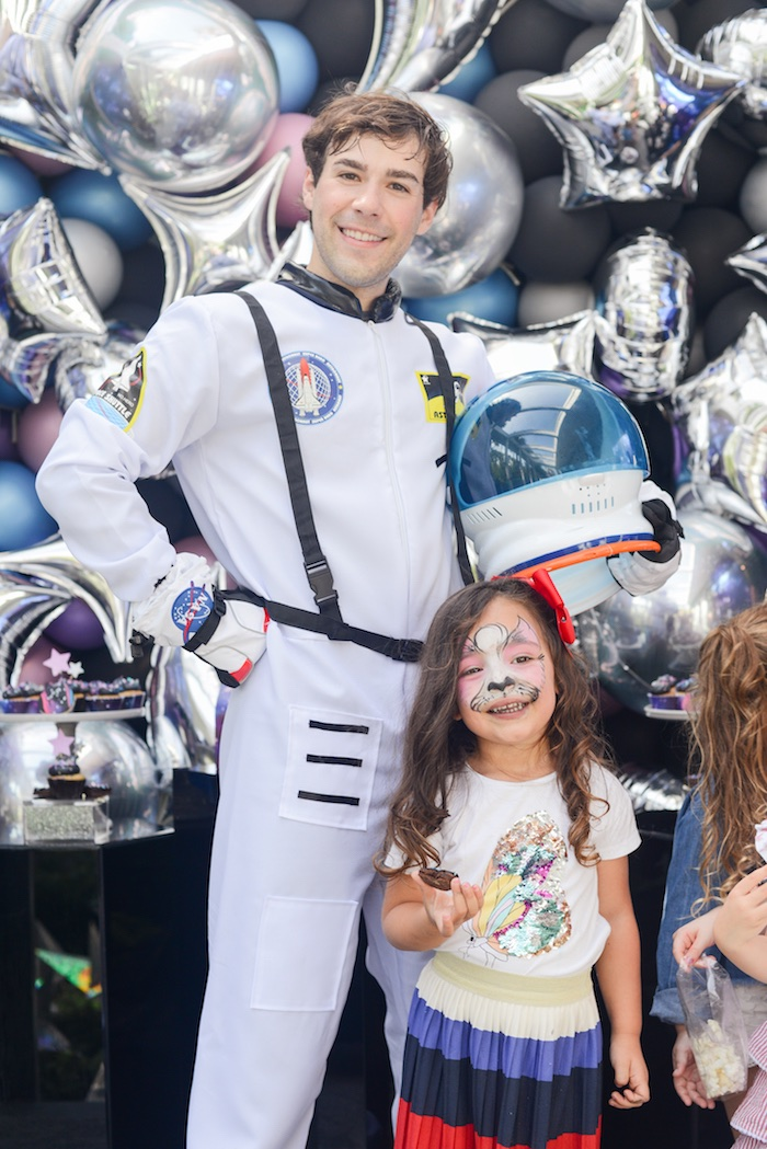 "Galactic ""Out of this World"" Birthday Party on Kara's Party Ideas 