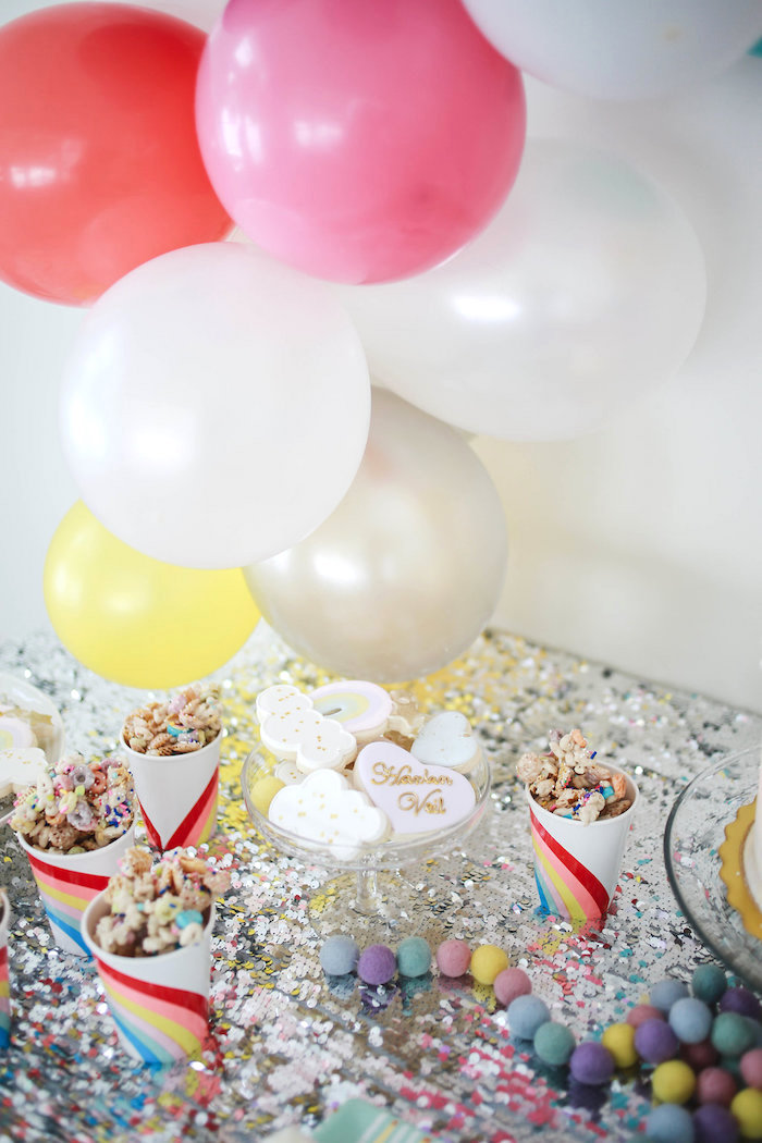 Snack Cups from a Heart of Gold Birthday Party on Kara's Party Ideas | KarasPartyIdeas.com (13)