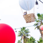 Hot Air Balloon Birthday Party on Kara's Party Ideas | KarasPartyIdeas.com (1)