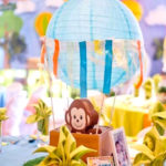 Hot Air Balloon Safari Birthday Party on Kara's Party Ideas   KarasPartyIdeas.com (4)