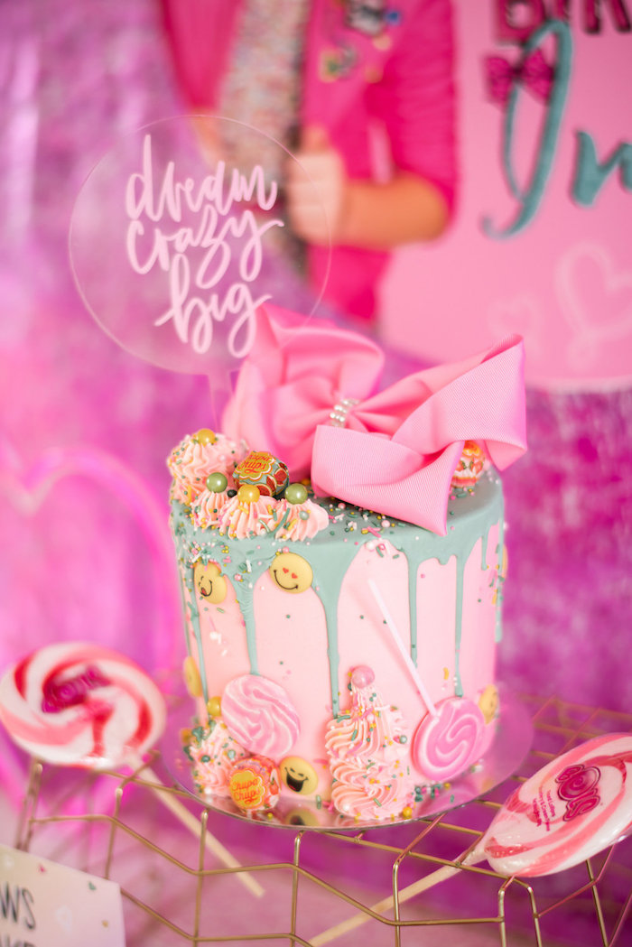 Kara S Party Ideas Jojo Siwa Inspired Girly Birthday Party Kara S