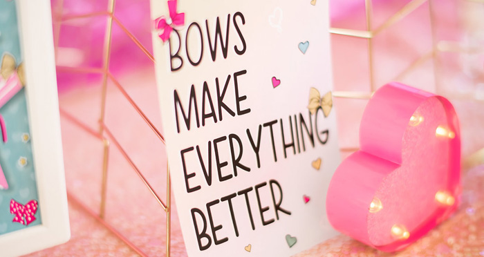 JoJo Siwa Inspired Girly Birthday Party on Kara's Party Ideas | KarasPartyIdeas.com (1)