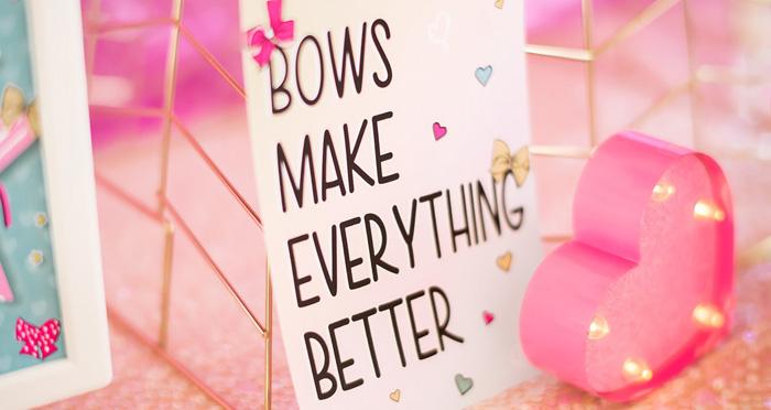 JoJo Siwa Inspired Girly Birthday Party on Kara's Party Ideas | KarasPartyIdeas.com (1)